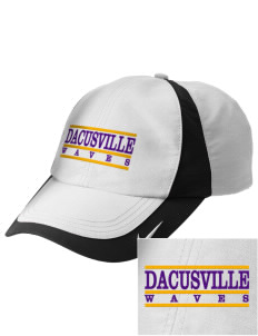Dacusville Middle School Waves Embroidered Nike Golf Colorblock Cap