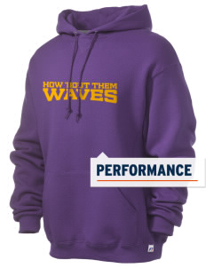 Dacusville Middle School Waves Russell Men's Dri-Power Hooded Sweatshirt