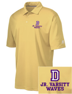 Dacusville Middle School Waves Embroidered Russell Coaches Core Polo Shirt