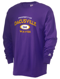 Dacusville Middle School Waves  Russell Men's Long Sleeve T-Shirt