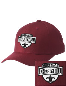 Cherry Hill Elementary School Mustangs Embroidered Pro Model Fitted Cap