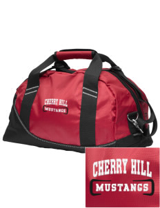 Cherry Hill Elementary School Mustangs Embroidered OGIO Half Dome Duffel
