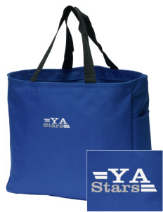 Yoakum Primary Annex School Stars Embroidered Essential Tote