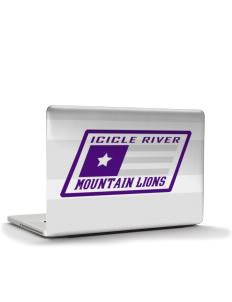 "Icicle River Middle School Mountain Lions Apple MacBook Pro 15"" & PowerBook 15"" Skin"
