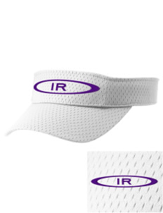 Icicle River Middle School Mountain Lions Embroidered Woven Cotton Visor
