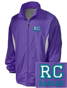 Rock Creek Elementary School Eagles Embroidered Holloway Men's Full-Zip Jacket