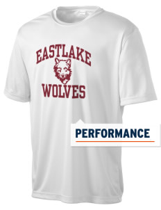 Eastlake High School Wolves Men's Competitor Performance T-Shirt
