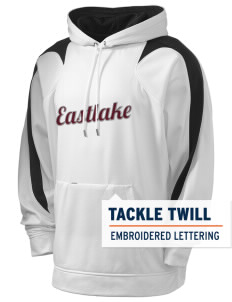 Eastlake High School Wolves Holloway Men's Sports Fleece Hooded Sweatshirt with Tackle Twill