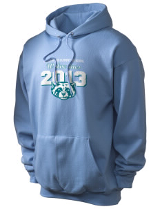 North Woods Elementary School Wolverines Champion Men's Hooded Sweatshirt