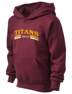 Agbu Manoogian Demirdjian School Titans Kid's Hooded Sweatshirt