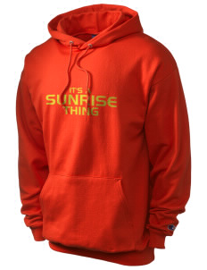 Sunrise School Eagles Champion Men's Hooded Sweatshirt