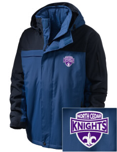 North Cedar Middle School Knights  Embroidered Men's Nootka Jacket