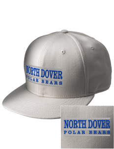 North Dover Elementary School Polar Bears  Embroidered New Era Flat Bill Snapback Cap