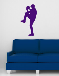 "Alternative Academy Phoenix Wall Silhouette Decal 20"" x 32"""