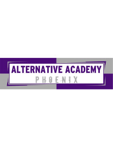 "Alternative Academy Phoenix Bumper Sticker 11"" x 3"""