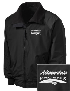 Alternative Academy Phoenix Embroidered Tall Men's Challenger Jacket
