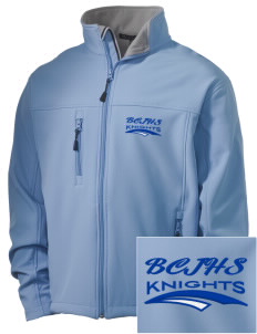Brookside Christian Junior High School Knights Embroidered Men's Soft Shell Jacket