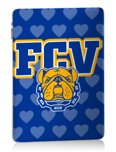 Franklin County Vocational Center Bulldogs Apple iPad Skin