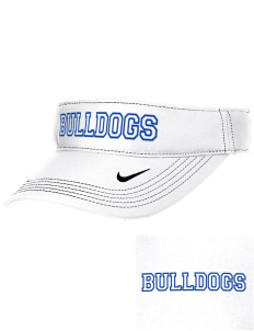 Franklin County Vocational Center Bulldogs Embroidered Nike Golf Dri-Fit Swoosh Visor
