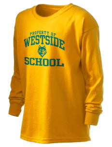 Westside School School Kid's 6.1 oz Long Sleeve Ultra Cotton T-Shirt