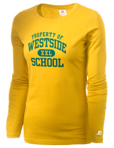 Westside School School  Russell Women's Long Sleeve Campus T-Shirt