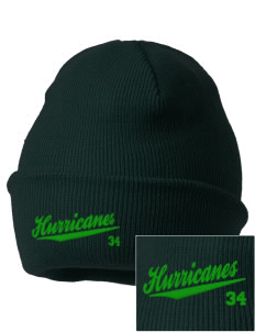 Fontainebleau Junior High School Hurricanes Embroidered Knit Cap