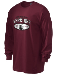 Choctaw Middle School Warriors 6.1 oz Ultra Cotton Long-Sleeve T-Shirt