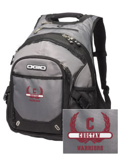 Choctaw Middle School Warriors Embroidered OGIO Fugitive Backpack