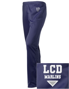 Low Country Day School Marlins Embroidered Holloway Women's Contact Warmup Pants
