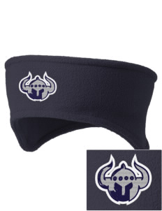Trinity Christian School Warriors Embroidered Fleece Headband