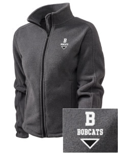 Bonner Elementary School Bobcats Embroidered Women's Fleece Full-Zip Jacket