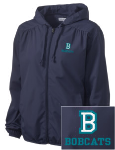 Bonner Elementary School Bobcats Embroidered Women's Hooded Essential Jacket