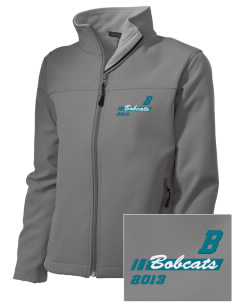 Bonner Elementary School Bobcats Embroidered Women's Soft Shell Jacket