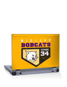"Midland Community Middle School Bobcats 15"" Laptop Skin"