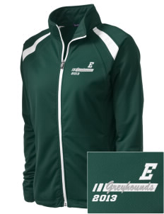 East Elementary School Greyhounds Embroidered Women's Tricot Track Jacket