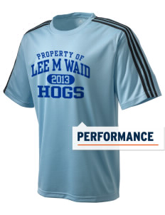 Lee M Waid Elementary School Hogs adidas Men's ClimaLite T-Shirt