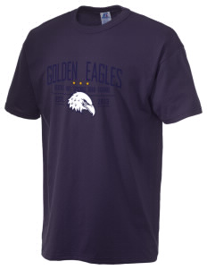 Desert Hot Springs High School Golden Eagles  Russell Men's NuBlend T-Shirt