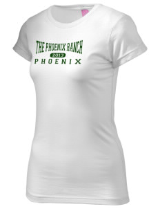 The Phoenix Ranch School Phoenix  Juniors' Fine Jersey Longer Length T-Shirt