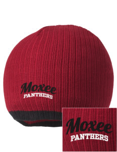 Moxee Elementary School Panthers Embroidered Champion Striped Knit Beanie
