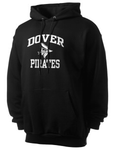 Dover Middle School Pirates Men's 7.8 oz Lightweight Hooded Sweatshirt