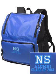 North Star Elementary School Huskies Embroidered Holloway Backpack
