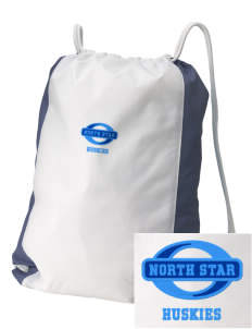 North Star Elementary School Huskies Embroidered Holloway Home and Away Cinch Bag