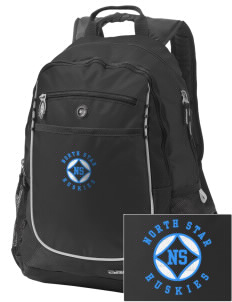 North Star Elementary School Huskies Embroidered OGIO Carbon Backpack