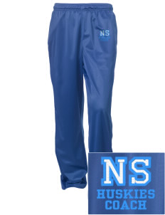North Star Elementary School Huskies Embroidered Women's Tricot Track Pants