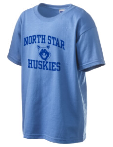 North Star Elementary School Huskies Kid's 6.1 oz Ultra Cotton T-Shirt