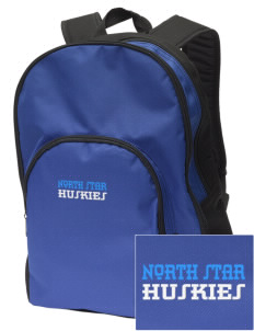 North Star Elementary School Huskies Embroidered Value Backpack