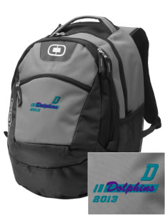 Day Middle School Dolphins Embroidered OGIO Rogue Backpack