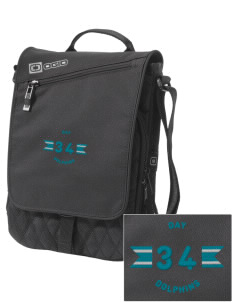 Day Middle School Dolphins Embroidered OGIO Module Sleeve for Tablets