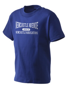 Newcastle Avenue Elementary School Newcastle Navigators Kid's T-Shirt