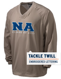 Newcastle Avenue Elementary School Newcastle Navigators adidas Men's ClimaProof V-Neck Wind Shirt with Tackle Twill